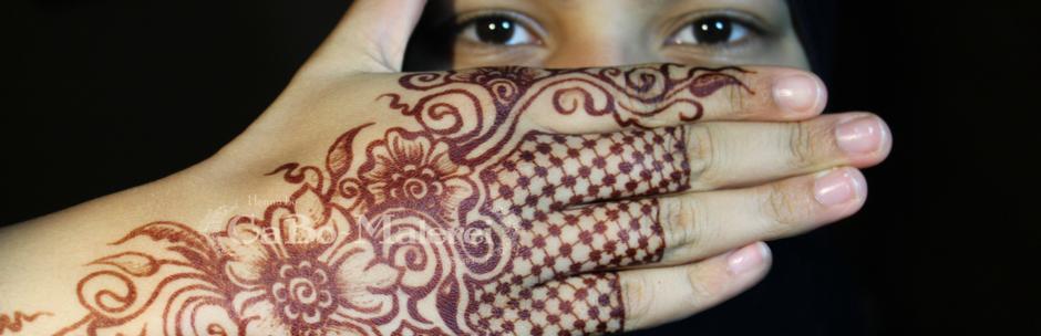 Henna Tattoo Berlin - Farbentwicklung